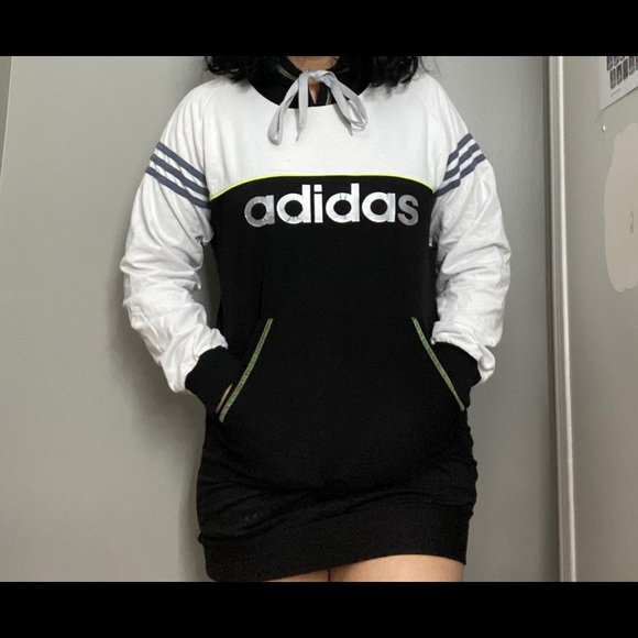 Adidas sweater dress